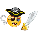 Pirate Facebook Chat Emoticon