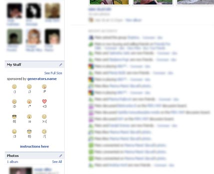 Facebook Emoticon Helper