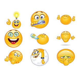 New Various Facebook Chat Emoticons