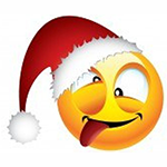 Silly Christmas Chat Emoticon