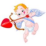 Cupid Facebook Chat Emoticon