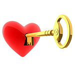 Key to Heart Chat Emoticon
