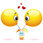 Share a Drink Facebook Emoticon