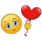 Heart Balloon Chat Emoticon