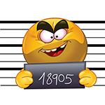 Jail Facebook Emoticon