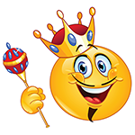 Facebook King Emoticon