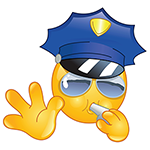 Police Facebook Chat Emoticon