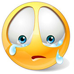 Sad Tears Facebook Chat Sticker