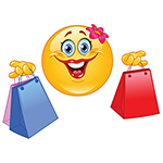 Shopping Facebook Chat Sticker