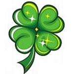 Four Leaf Clover Facebook Emoticon