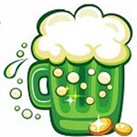 Facebook Green Beer Chat Emoticon
