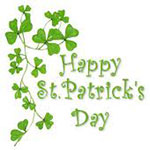 Happy Saint Patrick's Day Facebook Emoticon