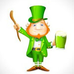 Leprechaun Facebook Chat Emoticon