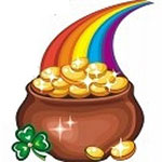 Facebook Pot of Gold Chat Emoticon