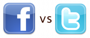 What's The Difference Between Facebook & Twitter?